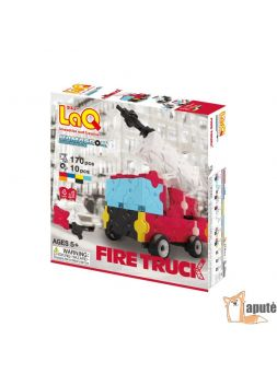 "LaQ ""Hamacron Constructor ""Fire Truck"""